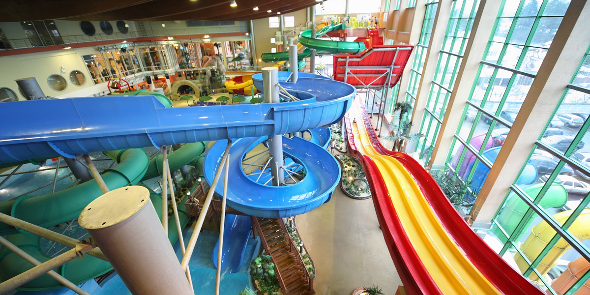 Indoor Waterpark in Russia