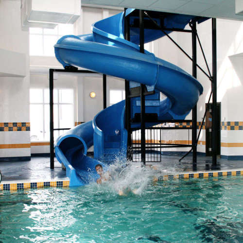Super Squirt Hotel Waterslide
