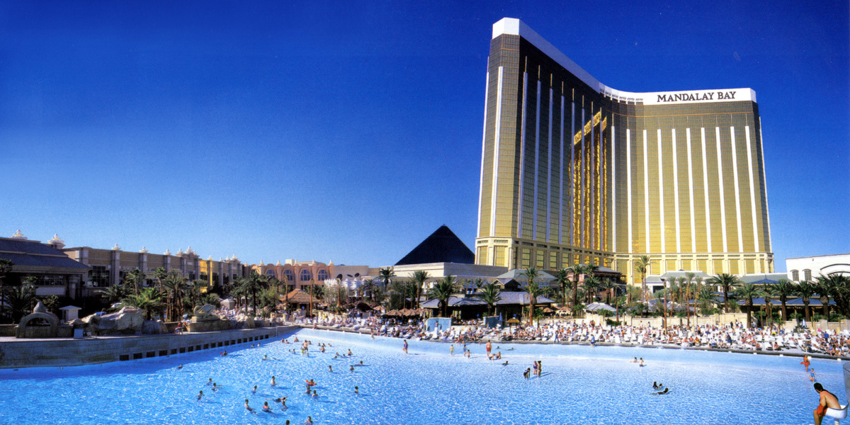 Large Hotel Wave Pool