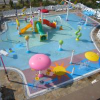 Splash Pad with Play Center